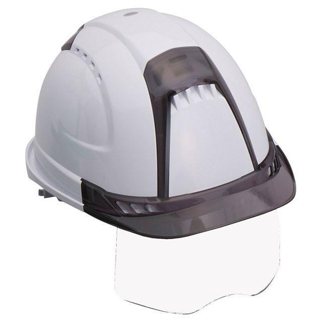 トーヨーセーフティー No.391F ワイドシールド面付き 作業用 ヘルメット Venti plus(通気孔付き/ライナー入り)/ 安全 工事 建設 建築 現場 高所 保護帽|proshophamada|21