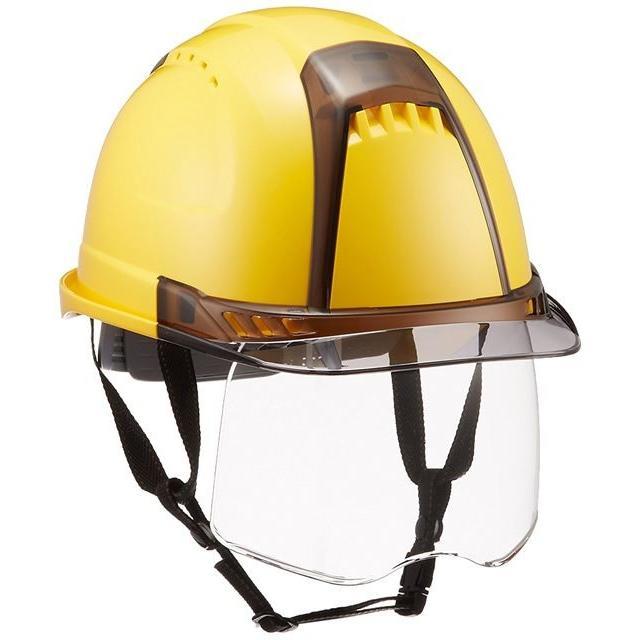 トーヨーセーフティー No.391F ワイドシールド面付き 作業用 ヘルメット Venti plus(通気孔付き/ライナー入り)/ 安全 工事 建設 建築 現場 高所 保護帽|proshophamada|23
