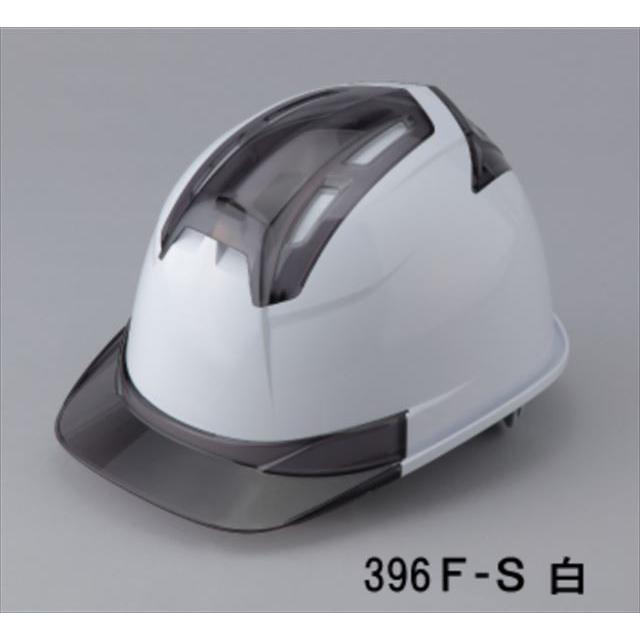 トーヨーセーフティー No.396F 透明ひさし 作業用 ヘルメット Venti IV(大口径通気孔/ライナー入)/  安全 工事用 建設用 建築用 現場用 高所用 保護帽|proshophamada|22