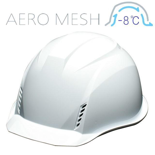 DIC AA16-FVM エアロメッシュ 軽い 涼しい 作業用 ヘルメット(通気孔付き/エアロメッシュ)/ 工事用 作業用 建設用 建築用 現場用 高所用 安全 保護帽 軽量|proshophamada|14