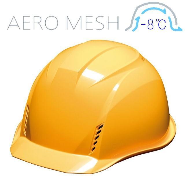 DIC AA16-FVM エアロメッシュ 軽い 涼しい 作業用 ヘルメット(通気孔付き/エアロメッシュ)/ 工事用 作業用 建設用 建築用 現場用 高所用 安全 保護帽 軽量|proshophamada|15