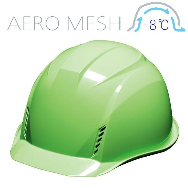 DIC AA16-FVM エアロメッシュ 軽い 涼しい 作業用 ヘルメット(通気孔付き/エアロメッシュ)/ 工事用 作業用 建設用 建築用 現場用 高所用 安全 保護帽 軽量|proshophamada|16
