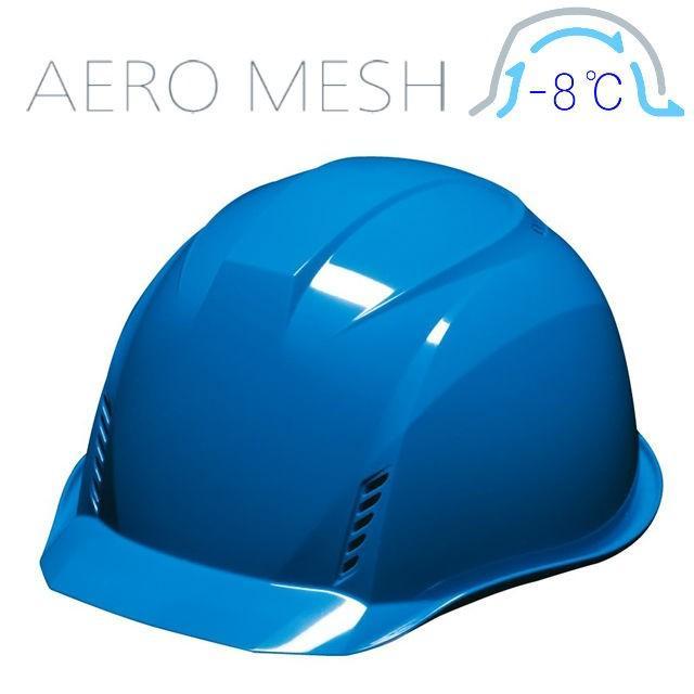 DIC AA16-FVM エアロメッシュ 軽い 涼しい 作業用 ヘルメット(通気孔付き/エアロメッシュ)/ 工事用 作業用 建設用 建築用 現場用 高所用 安全 保護帽 軽量|proshophamada|17