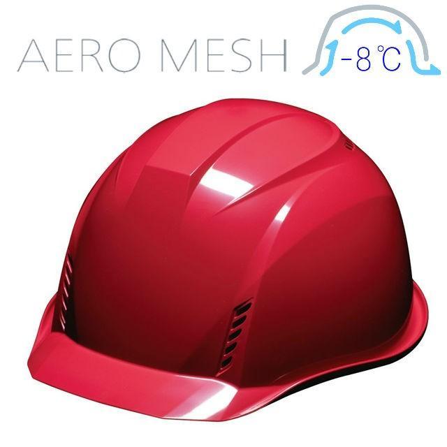 DIC AA16-FVM エアロメッシュ 軽い 涼しい 作業用 ヘルメット(通気孔付き/エアロメッシュ)/ 工事用 作業用 建設用 建築用 現場用 高所用 安全 保護帽 軽量|proshophamada|18