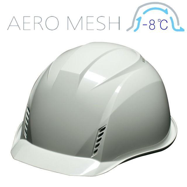 DIC AA16-FVM エアロメッシュ 軽い 涼しい 作業用 ヘルメット(通気孔付き/エアロメッシュ)/ 工事用 作業用 建設用 建築用 現場用 高所用 安全 保護帽 軽量|proshophamada|20