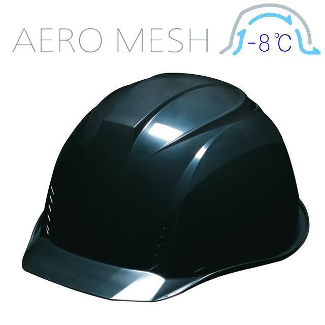 DIC AA16-FVM エアロメッシュ 軽い 涼しい 作業用 ヘルメット(通気孔付き/エアロメッシュ)/ 工事用 作業用 建設用 建築用 現場用 高所用 安全 保護帽 軽量|proshophamada|21