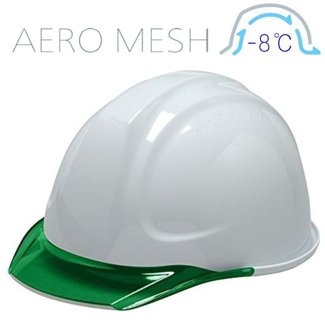 DIC SYA-CM エアロメッシュ 涼しい 透明ひさし 作業用ヘルメット(通気孔なし/エアロメッシュ)/ 工事用 作業用 建設用 建築用 現場用 高所用 安全 電気設備工事|proshophamada|14