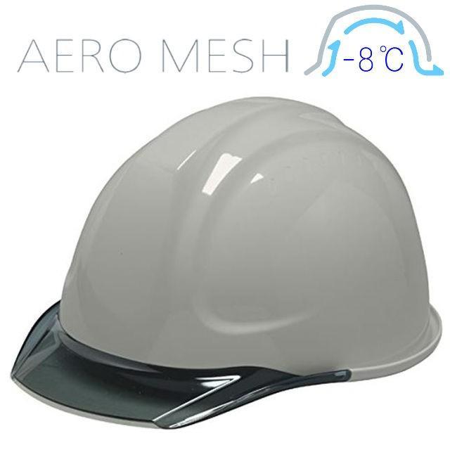 DIC SYA-CM エアロメッシュ 涼しい 透明ひさし 作業用ヘルメット(通気孔なし/エアロメッシュ)/ 工事用 作業用 建設用 建築用 現場用 高所用 安全 電気設備工事|proshophamada|18