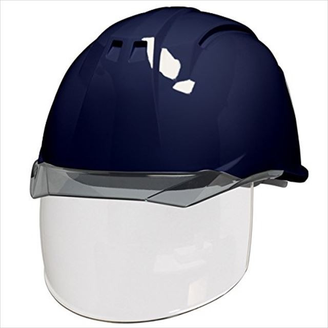 DIC AA11EVO-CS ワイドシールド面付き 作業用 ヘルメット(通気孔なし/ライナー入り)/ 工事用 建設用 建築用 現場用 高所用 安全 保護帽 電気設備工事対応|proshophamada|18