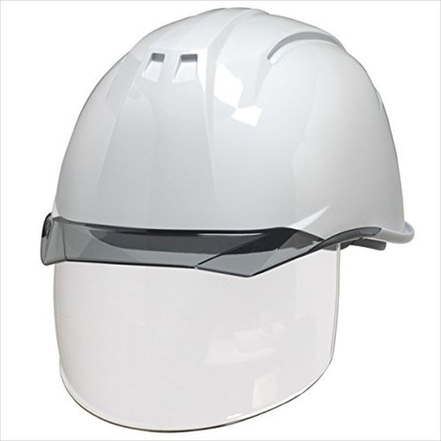 DIC AA11EVO-CS ワイドシールド面付き 作業用 ヘルメット(通気孔なし/ライナー入り)/ 工事用 建設用 建築用 現場用 高所用 安全 保護帽 電気設備工事対応|proshophamada|10