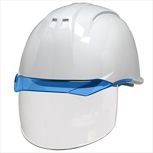 DIC AA11EVO-CS ワイドシールド面付き 作業用 ヘルメット(通気孔なし/ライナー入り)/ 工事用 建設用 建築用 現場用 高所用 安全 保護帽 電気設備工事対応|proshophamada|11