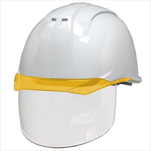 DIC AA11EVO-CS ワイドシールド面付き 作業用 ヘルメット(通気孔なし/ライナー入り)/ 工事用 建設用 建築用 現場用 高所用 安全 保護帽 電気設備工事対応|proshophamada|12