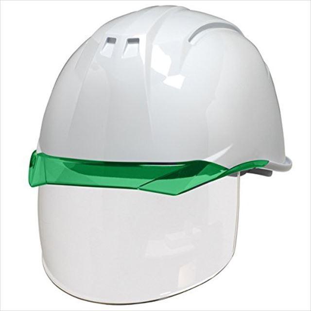 DIC AA11EVO-CS ワイドシールド面付き 作業用 ヘルメット(通気孔なし/ライナー入り)/ 工事用 建設用 建築用 現場用 高所用 安全 保護帽 電気設備工事対応|proshophamada|13