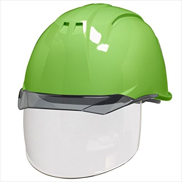 DIC AA11EVO-CS ワイドシールド面付き 作業用 ヘルメット(通気孔なし/ライナー入り)/ 工事用 建設用 建築用 現場用 高所用 安全 保護帽 電気設備工事対応|proshophamada|14