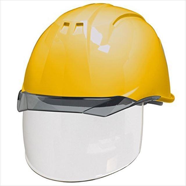DIC AA11EVO-CS ワイドシールド面付き 作業用 ヘルメット(通気孔なし/ライナー入り)/ 工事用 建設用 建築用 現場用 高所用 安全 保護帽 電気設備工事対応|proshophamada|15