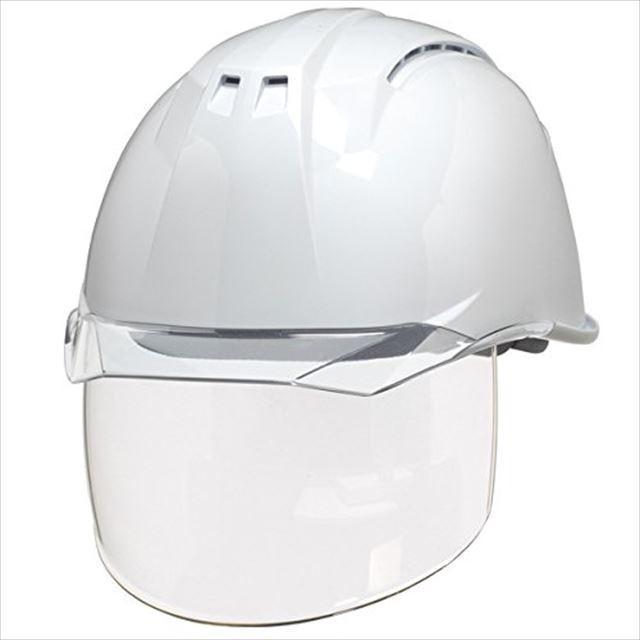 DIC AA11EVO-CSW ワイドシールド面付き 作業用 ヘルメット(通気孔付き/ライナー入り)/ 工事用 建設用 建築用 現場用 高所用 安全 保護帽 フェイスシールド proshophamada 12