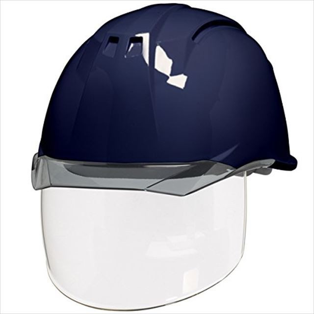 DIC AA11EVO-CSW ワイドシールド面付き 作業用 ヘルメット(通気孔付き/ライナー入り)/ 工事用 建設用 建築用 現場用 高所用 安全 保護帽 フェイスシールド proshophamada 21