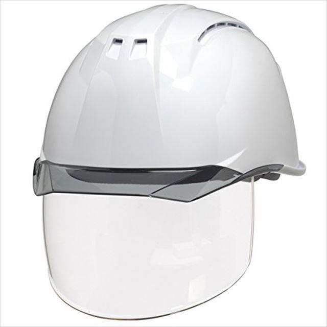 DIC AA11EVO-CSW ワイドシールド面付き 作業用 ヘルメット(通気孔付き/ライナー入り)/ 工事用 建設用 建築用 現場用 高所用 安全 保護帽 フェイスシールド proshophamada 13