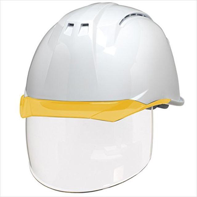 DIC AA11EVO-CSW ワイドシールド面付き 作業用 ヘルメット(通気孔付き/ライナー入り)/ 工事用 建設用 建築用 現場用 高所用 安全 保護帽 フェイスシールド proshophamada 15