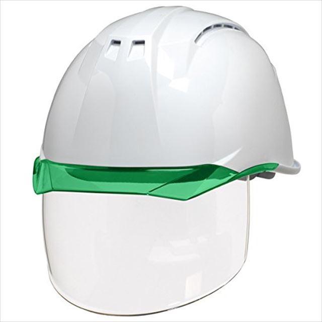 DIC AA11EVO-CSW ワイドシールド面付き 作業用 ヘルメット(通気孔付き/ライナー入り)/ 工事用 建設用 建築用 現場用 高所用 安全 保護帽 フェイスシールド proshophamada 16