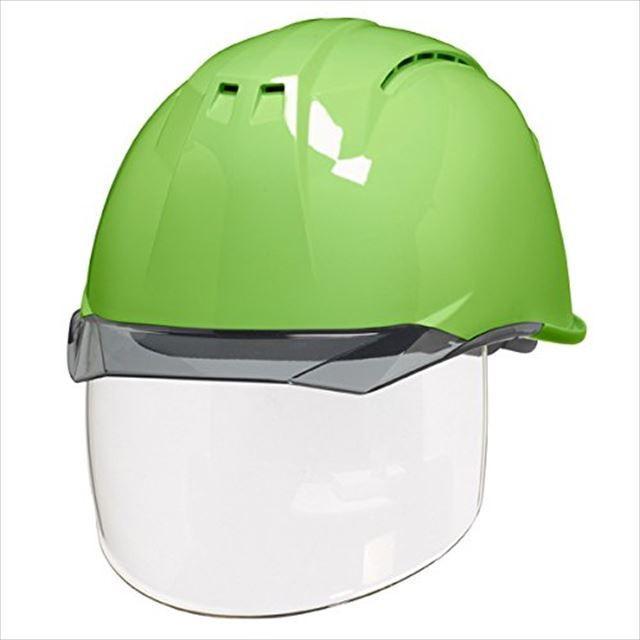 DIC AA11EVO-CSW ワイドシールド面付き 作業用 ヘルメット(通気孔付き/ライナー入り)/ 工事用 建設用 建築用 現場用 高所用 安全 保護帽 フェイスシールド proshophamada 17