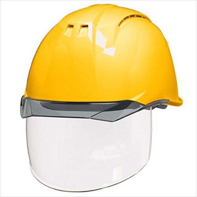 DIC AA11EVO-CSW ワイドシールド面付き 作業用 ヘルメット(通気孔付き/ライナー入り)/ 工事用 建設用 建築用 現場用 高所用 安全 保護帽 フェイスシールド proshophamada 18