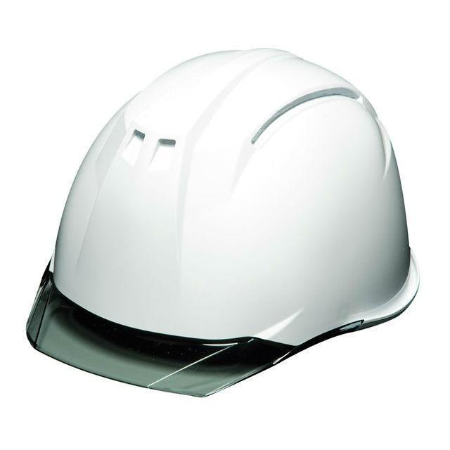 DIC AA11EVO-C 透明ひさし 作業用 ヘルメット(通気孔なし/ライナー入り)/ 工事用 建設用 建築用 現場用 高所用 安全 保護帽 電気設備工事対応 クリアバイザー|proshophamada|09