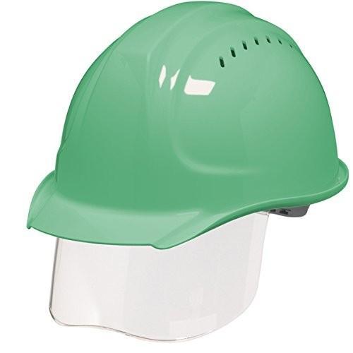 DIC SYA-SVKP コンパクトシールド面付き 作業用ヘルメット(通気孔付き/発泡ライナー)/ 工事用 作業用 建設用 建築用 現場用 高所用 安全 保護帽|proshophamada|09