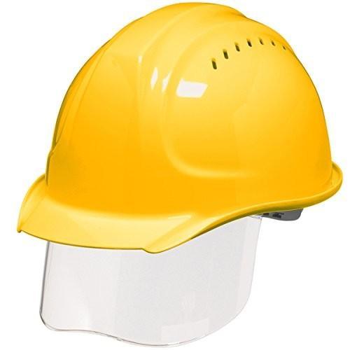 DIC SYA-SVKP コンパクトシールド面付き 作業用ヘルメット(通気孔付き/発泡ライナー)/ 工事用 作業用 建設用 建築用 現場用 高所用 安全 保護帽|proshophamada|07