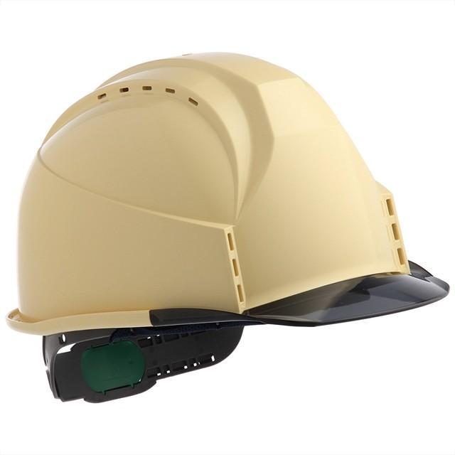 スミハット KKC3-B 透明ひさし 作業用 ヘルメット(通気孔付き/ライナー入り)/ 工事用 建設用 建築用 現場用 高所用 安全 保護帽 クリアバイザー proshophamada 19