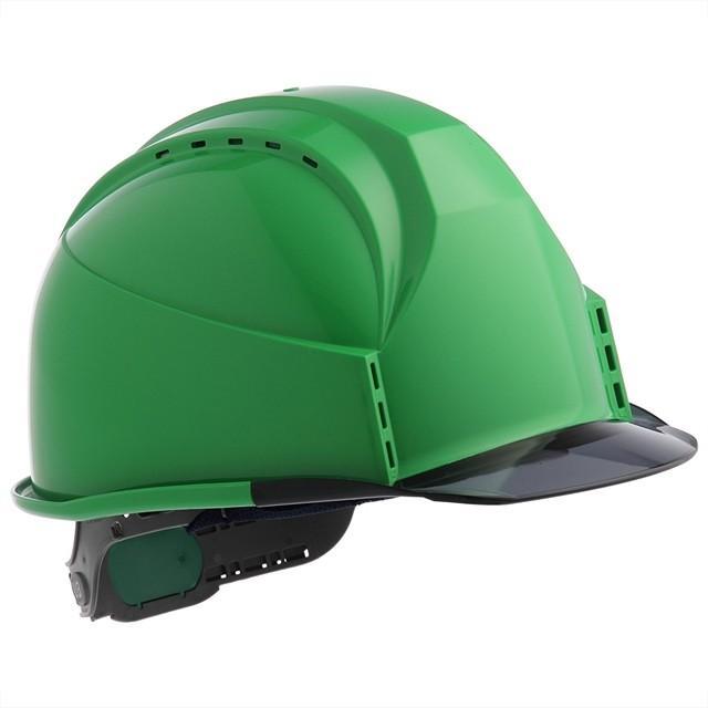 スミハット KKC3-B 透明ひさし 作業用 ヘルメット(通気孔付き/ライナー入り)/ 工事用 建設用 建築用 現場用 高所用 安全 保護帽 クリアバイザー proshophamada 16