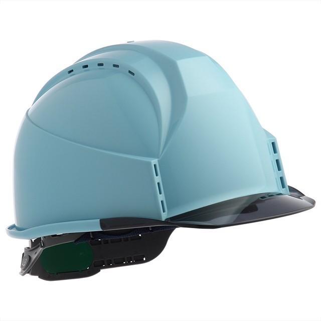 スミハット KKC3-B 透明ひさし 作業用 ヘルメット(通気孔付き/ライナー入り)/ 工事用 建設用 建築用 現場用 高所用 安全 保護帽 クリアバイザー proshophamada 21