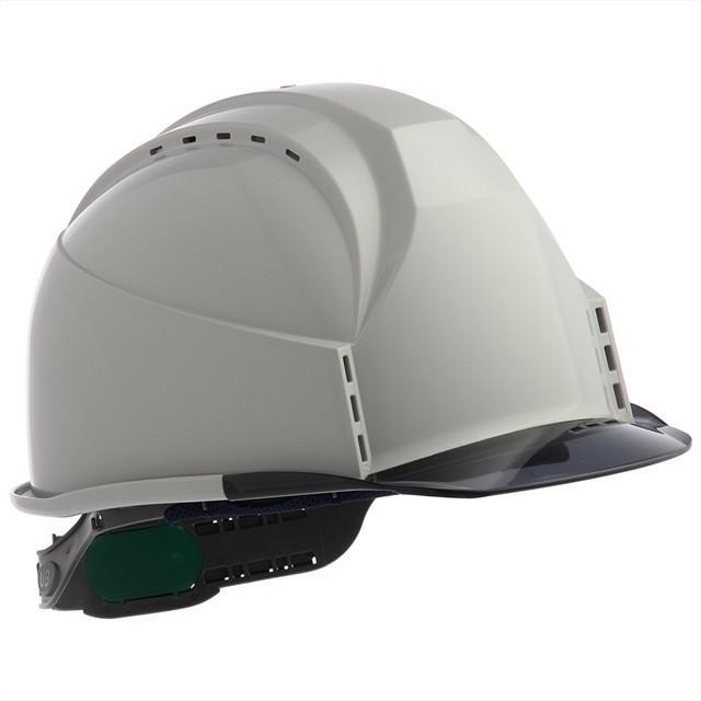 スミハット KKC3-B 透明ひさし 作業用 ヘルメット(通気孔付き/ライナー入り)/ 工事用 建設用 建築用 現場用 高所用 安全 保護帽 クリアバイザー proshophamada 20