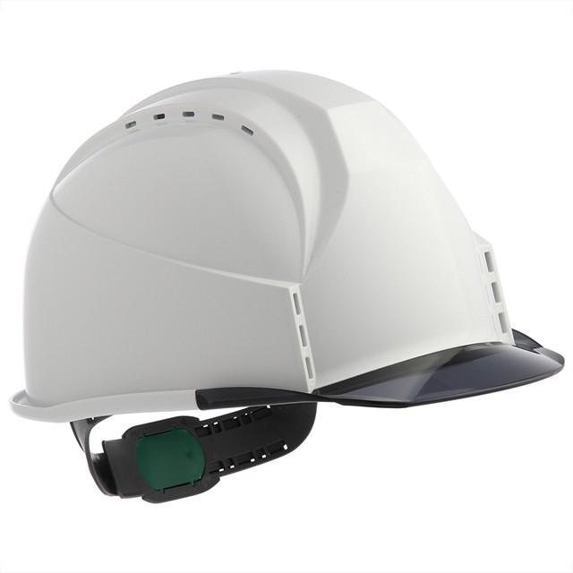 スミハット KKC3-B 透明ひさし 作業用 ヘルメット(通気孔付き/ライナー入り)/ 工事用 建設用 建築用 現場用 高所用 安全 保護帽 クリアバイザー proshophamada 13