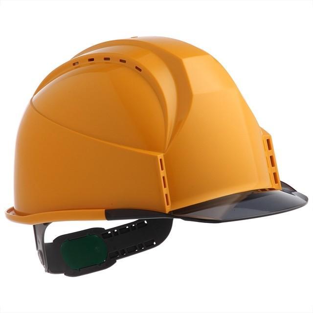 スミハット KKC3-B 透明ひさし 作業用 ヘルメット(通気孔付き/ライナー入り)/ 工事用 建設用 建築用 現場用 高所用 安全 保護帽 クリアバイザー proshophamada 14