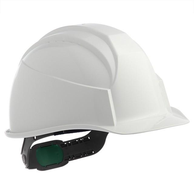 スミハット KK-B 作業用 ヘルメット(通気孔なし/ライナー入り)/ ヘルメット 工事用 建設用 建築用 現場用 高所用 安全 保護帽 電気設備工事対応|proshophamada|05