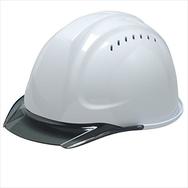 DIC SYA-CVKP 透明ひさし 作業用 ヘルメット(通気孔付き/発泡ライナー)/ 工事用 建設用 建築用 現場用 高所用 安全 保護帽  クリアバイザー|proshophamada|08