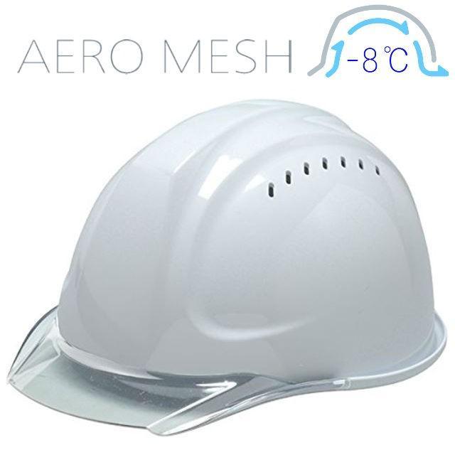 DIC SYA-CVM エアロメッシュ 涼しい 透明ひさし 作業用ヘルメット(通気孔付き/エアロメッシュ)/ 工事用 作業用 建設用 建築用 現場用 高所用 安全 保護帽 proshophamada 12