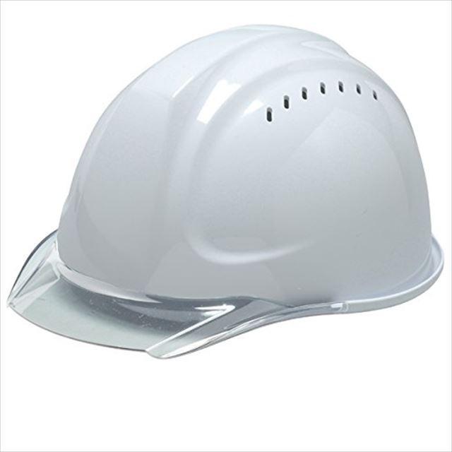 DIC SYA-CVKP 透明ひさし 作業用 ヘルメット(通気孔付き/発泡ライナー)/ 工事用 建設用 建築用 現場用 高所用 安全 保護帽  クリアバイザー|proshophamada|05