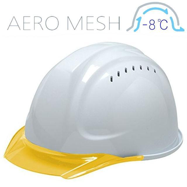 DIC SYA-CVM エアロメッシュ 涼しい 透明ひさし 作業用ヘルメット(通気孔付き/エアロメッシュ)/ 工事用 作業用 建設用 建築用 現場用 高所用 安全 保護帽 proshophamada 13