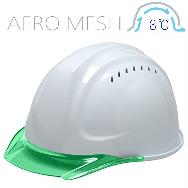 DIC SYA-CVM エアロメッシュ 涼しい 透明ひさし 作業用ヘルメット(通気孔付き/エアロメッシュ)/ 工事用 作業用 建設用 建築用 現場用 高所用 安全 保護帽 proshophamada 14