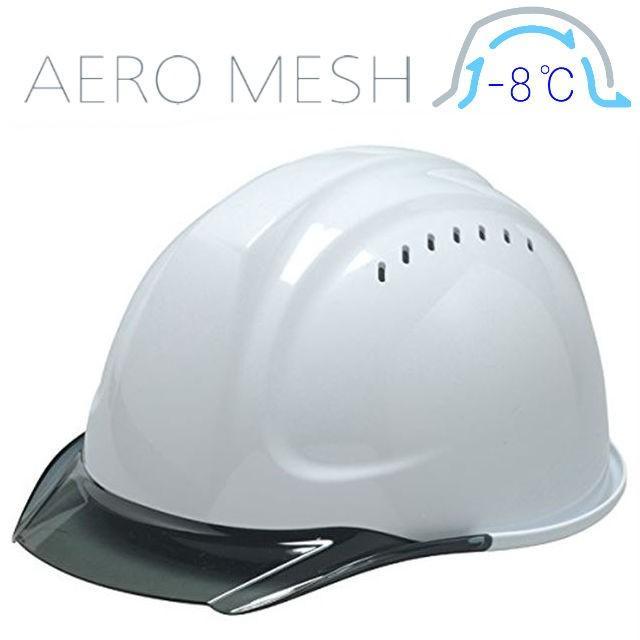 DIC SYA-CVM エアロメッシュ 涼しい 透明ひさし 作業用ヘルメット(通気孔付き/エアロメッシュ)/ 工事用 作業用 建設用 建築用 現場用 高所用 安全 保護帽 proshophamada 15