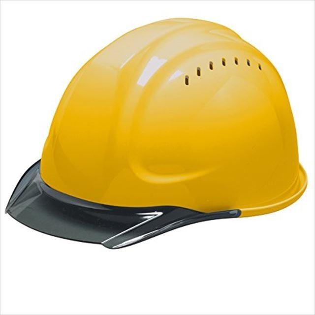 DIC SYA-CVKP 透明ひさし 作業用 ヘルメット(通気孔付き/発泡ライナー)/ 工事用 建設用 建築用 現場用 高所用 安全 保護帽  クリアバイザー|proshophamada|09