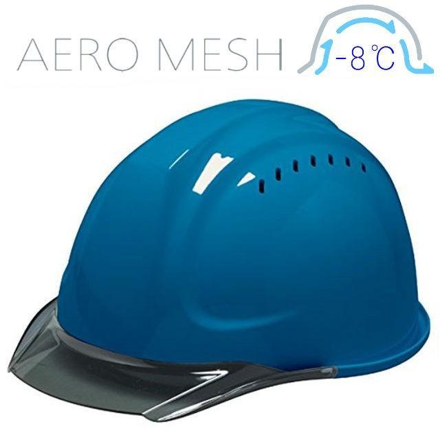 DIC SYA-CVM エアロメッシュ 涼しい 透明ひさし 作業用ヘルメット(通気孔付き/エアロメッシュ)/ 工事用 作業用 建設用 建築用 現場用 高所用 安全 保護帽 proshophamada 17
