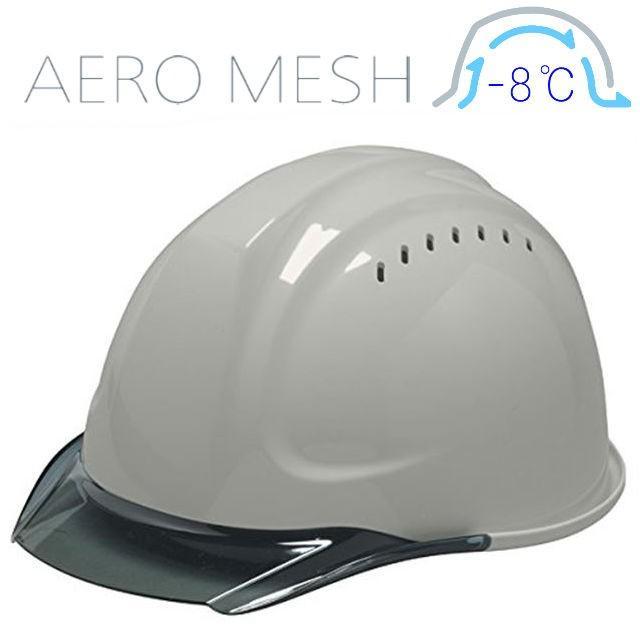 DIC SYA-CVM エアロメッシュ 涼しい 透明ひさし 作業用ヘルメット(通気孔付き/エアロメッシュ)/ 工事用 作業用 建設用 建築用 現場用 高所用 安全 保護帽 proshophamada 18