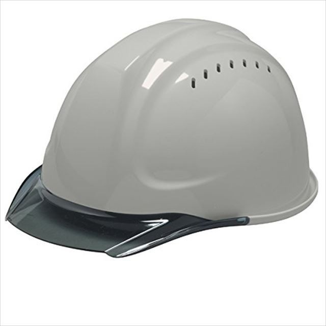DIC SYA-CVKP 透明ひさし 作業用 ヘルメット(通気孔付き/発泡ライナー)/ 工事用 建設用 建築用 現場用 高所用 安全 保護帽  クリアバイザー|proshophamada|11