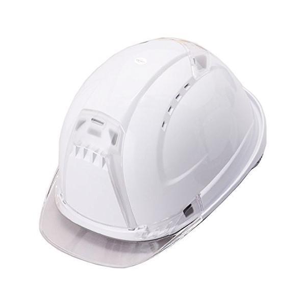トーヨーセーフティー No.392F 透明ひさし 作業用ヘルメット Venti plus(通気孔付き/ライナー入)/  安全 工事用 建設用 建築用 現場用 高所用 保護帽|proshophamada|04