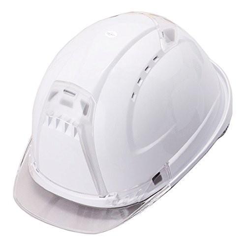 トーヨーセーフティー No.392F 透明ひさし 作業用 ヘルメット Venti plus(通気孔付き/ライナー入り)/  安全 工事用 建設用 建築用 現場用 高所用 保護帽|proshophamada|04