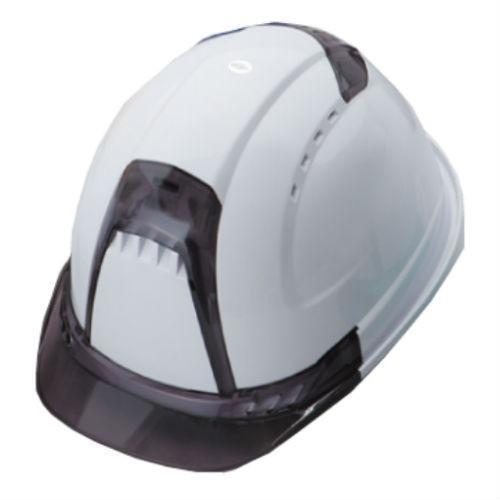 トーヨーセーフティー No.392F 透明ひさし 作業用 ヘルメット Venti plus(通気孔付き/ライナー入り)/  安全 工事用 建設用 建築用 現場用 高所用 保護帽|proshophamada|05
