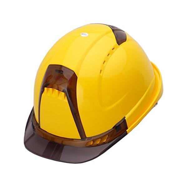 トーヨーセーフティー No.392F 透明ひさし 作業用ヘルメット Venti plus(通気孔付き/ライナー入)/  安全 工事用 建設用 建築用 現場用 高所用 保護帽|proshophamada|07